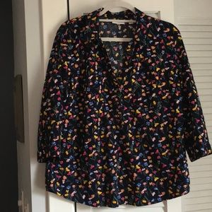 Attractive Floral Print Blouse